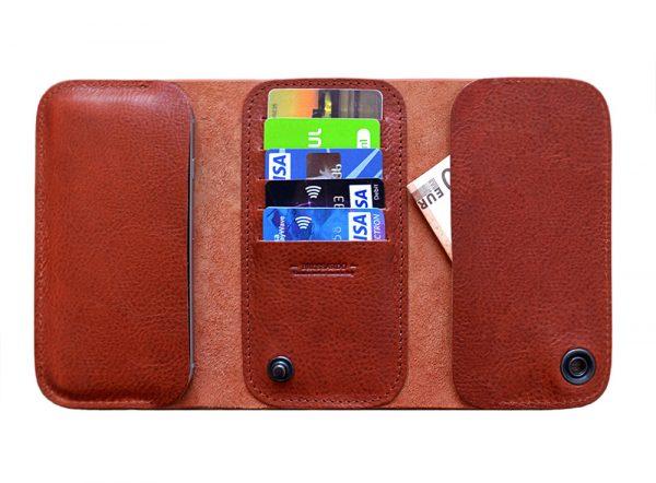 iPhone cardholder