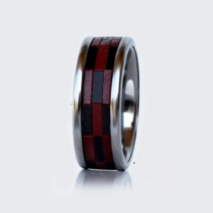 leather ring wolfram (tungsten)