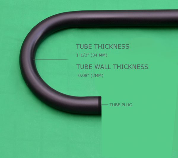 Tube thickness