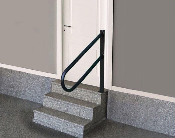 Handrail for door step
